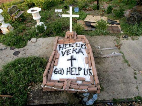 Here lies Vera