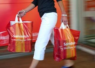 Sainsbury's shopper (image from Sainsbury's Media Toolkit)