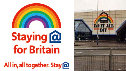 Staying@  for Britain  All in, au together.Stay@
